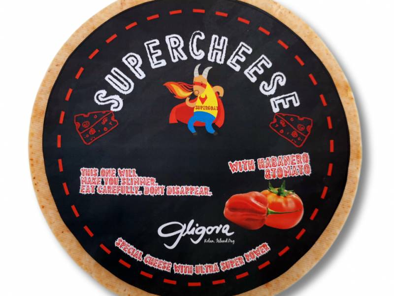 Gligora cheese factory presents a new series of cheeses - SUPERCHEESE