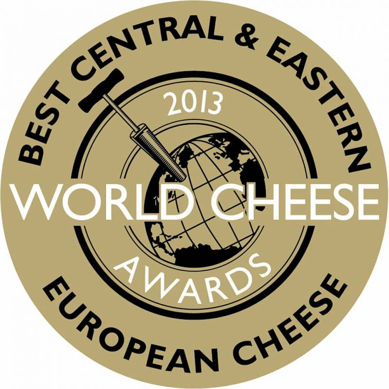 Winner of SuperGold and Trophy at World Cheese Awards, London, UK
