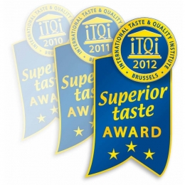 Crystal Award for outstanding consistent quality and taste
