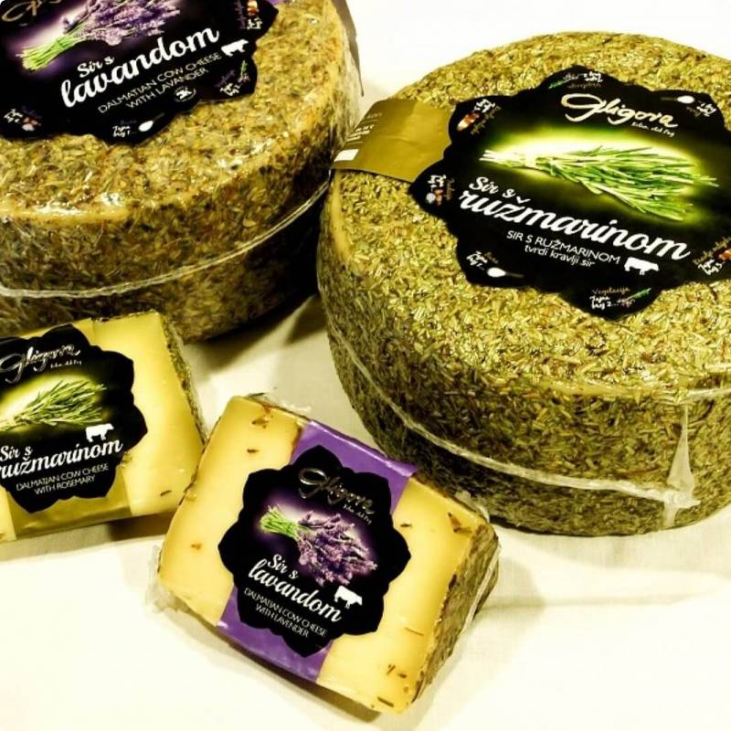 Cheeses staying in aromatic herbs price, sale, discount Croatia