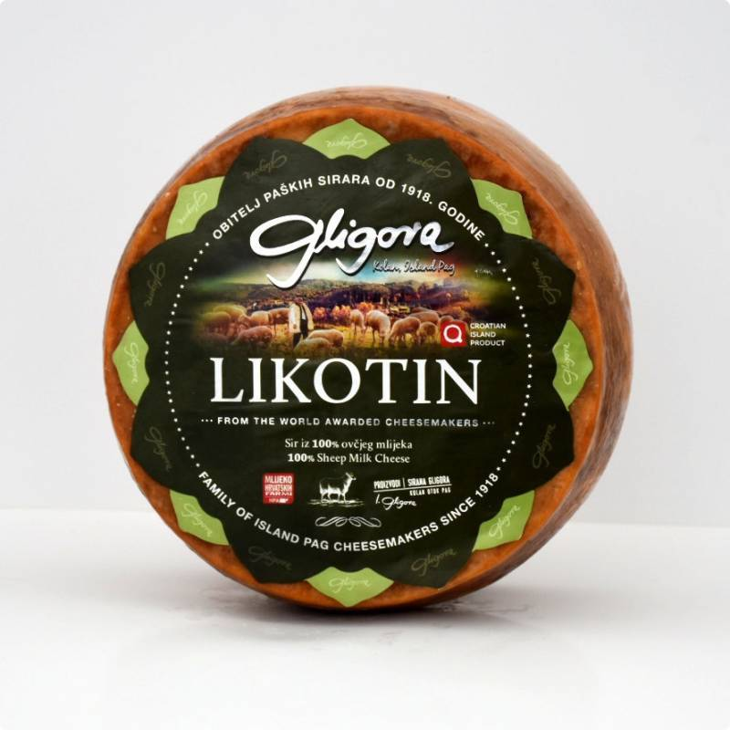 Likotin sheep cheese price, sale, discount Croatia