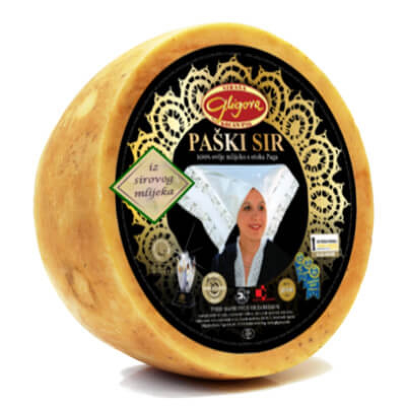 Pag raw milk cheese