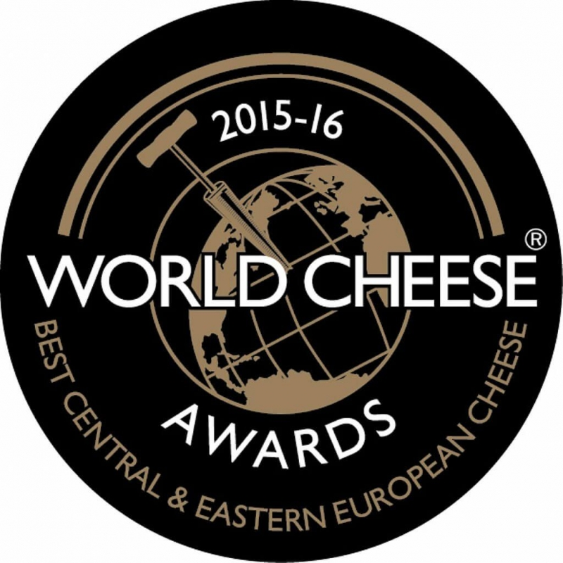 Supergold und Gewinner der Trophäe bei den World Cheese Awards, Birminhgham, GB