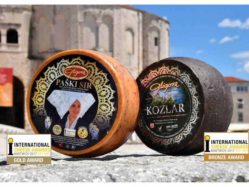 Paški sir - best hard sheep cheese in 2017 on International Cheese Awards