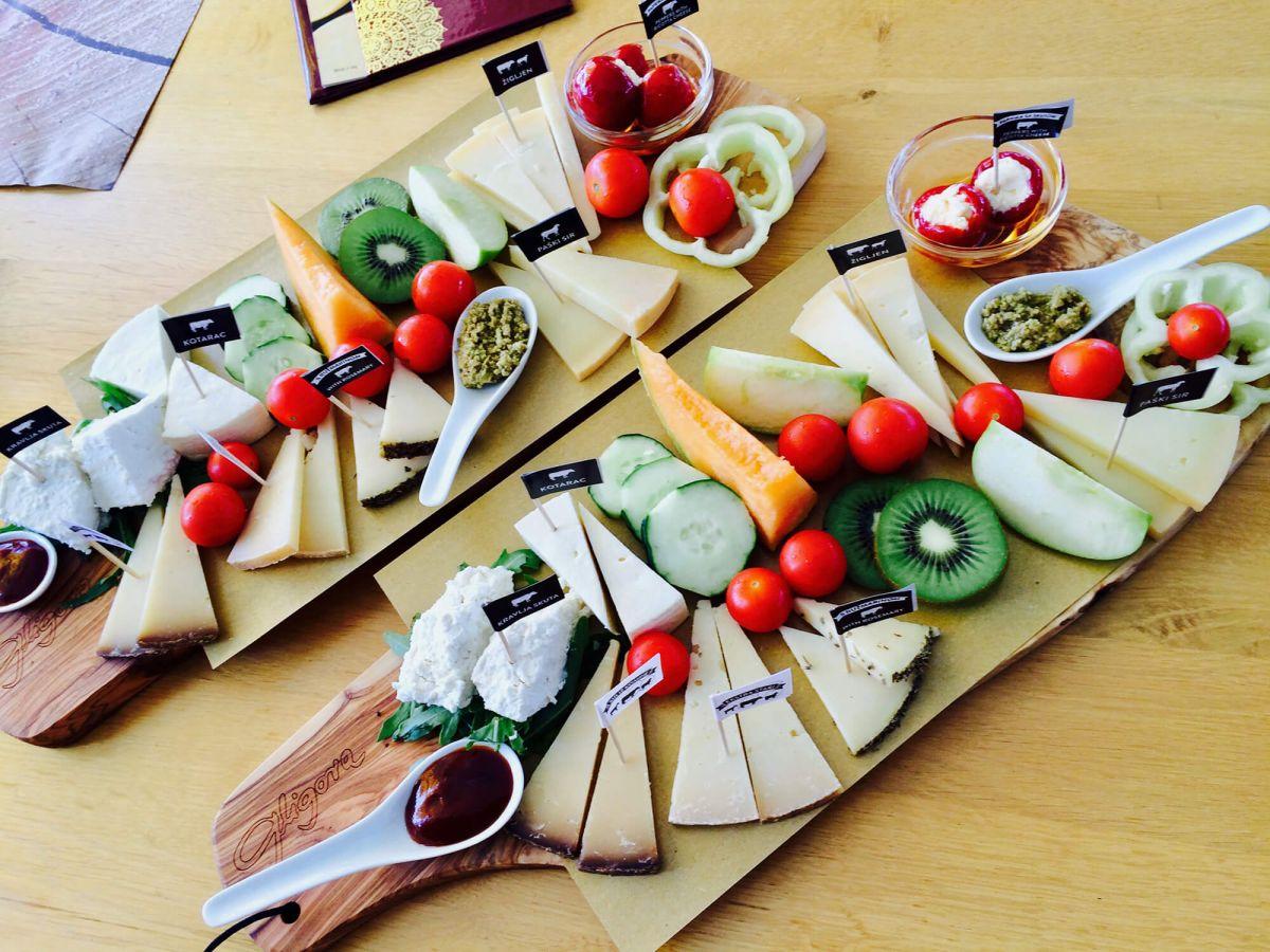 Kušaonica i degustacija sireva