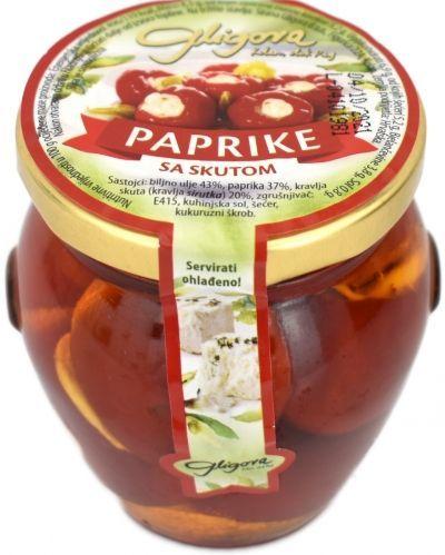 Paprike sa skutom cijena, prodaja, akcija Hrvatska