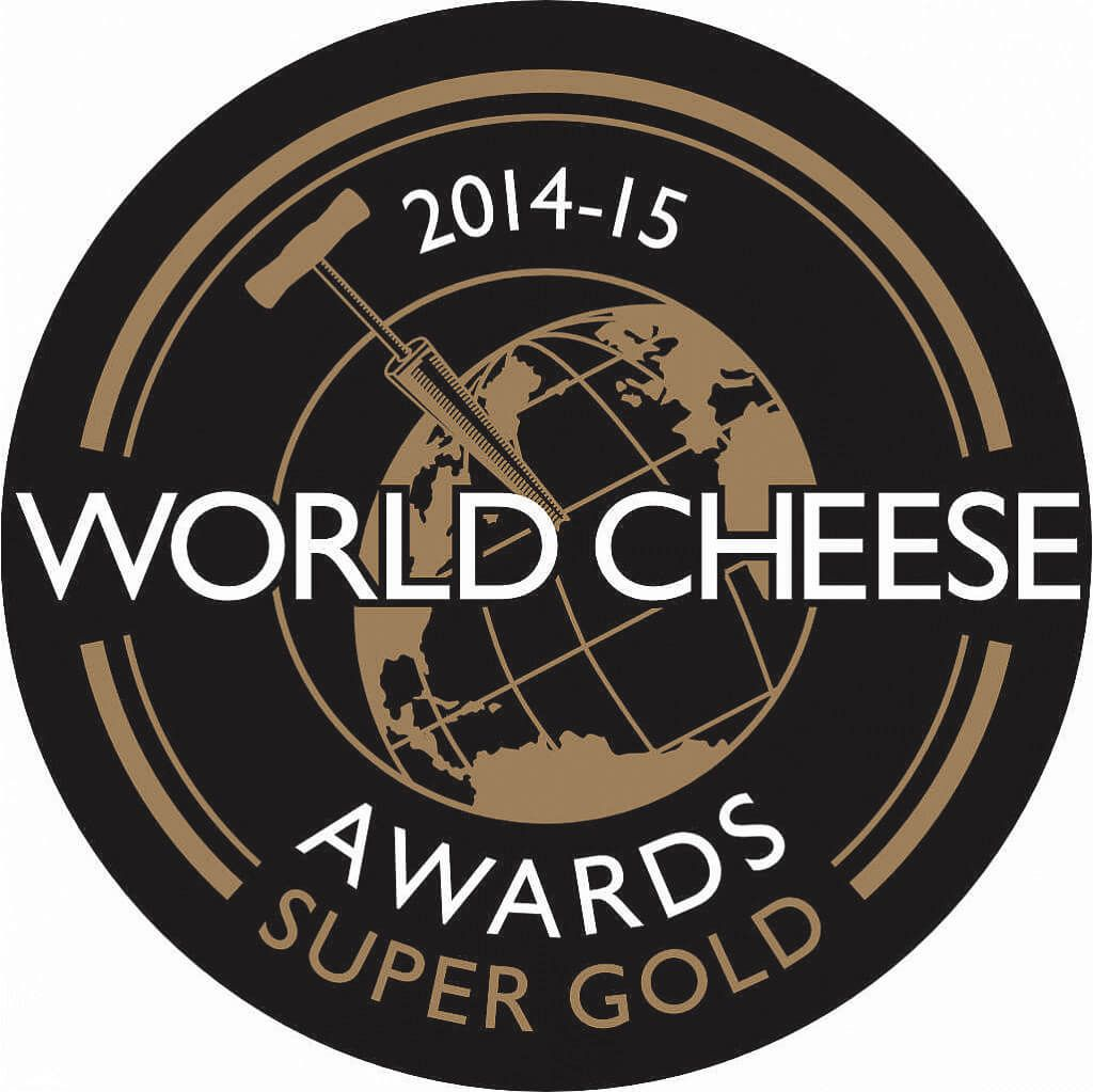 Vice champion of the contest, SuperGold and Trophy at World Cheese Awards, London, UK