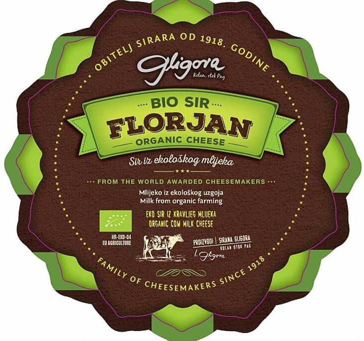 Bio certification for the cheese Florjan