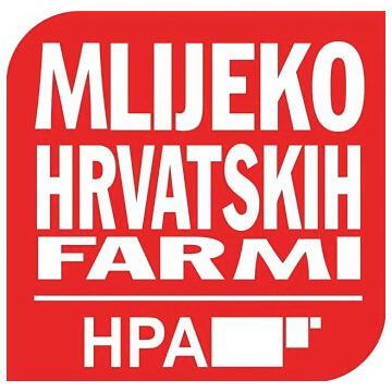 Milk from Croatian farm