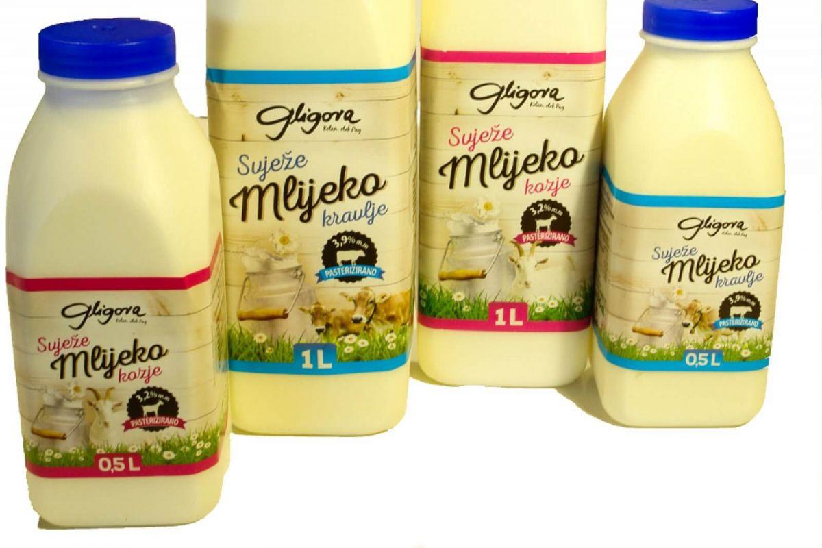 Fresh milk and yogurts price, sale, discount Croatia