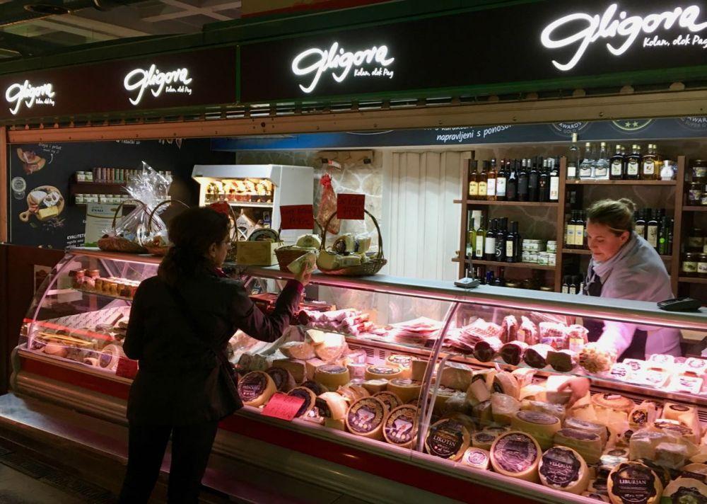 Marketplace Dolac Zagreb