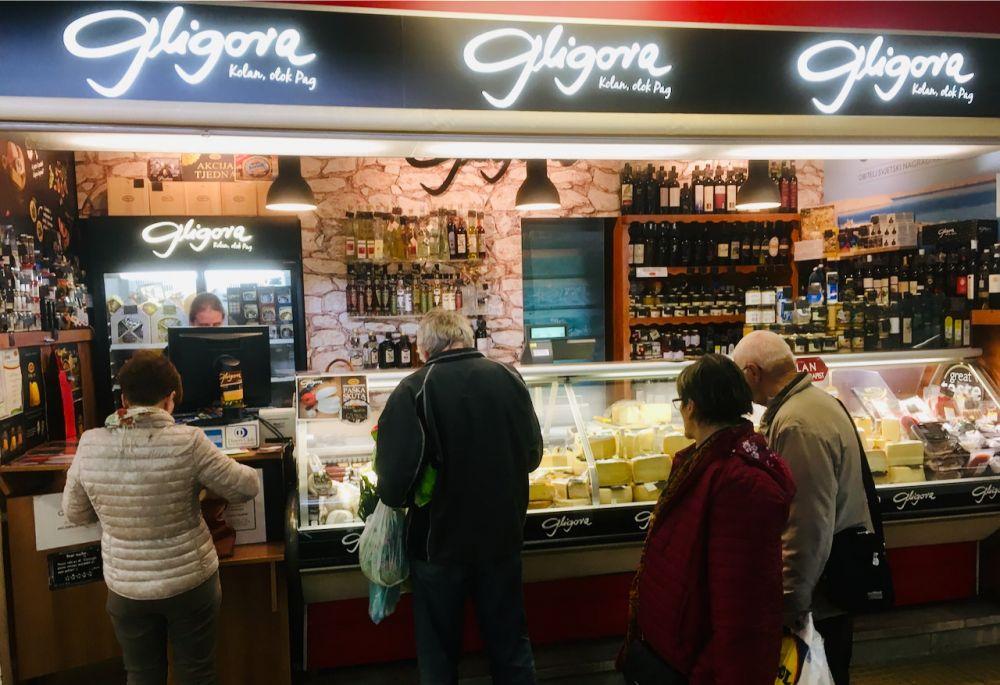 Rijeka - Main marketplace