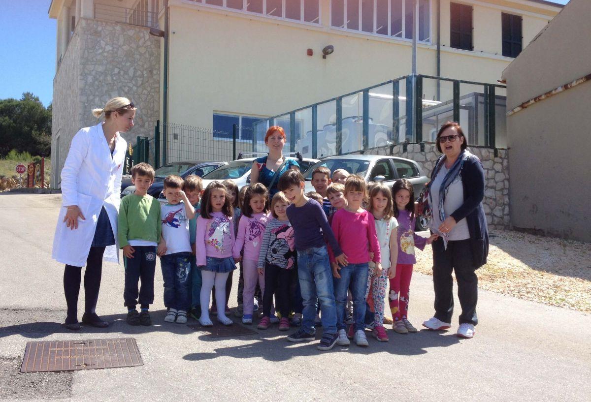Der Kindergarten Carić in Novalja
