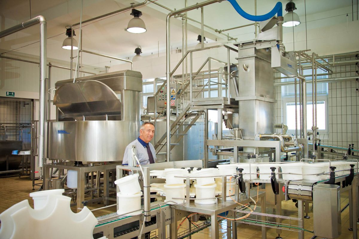 Unsere Käserei und Technologie