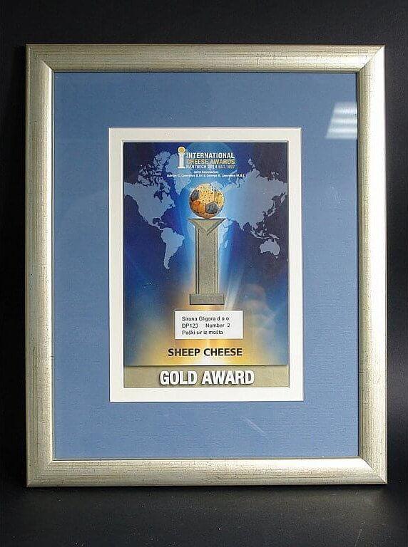 Médaille d'or et Meilleur classement ICA 2014