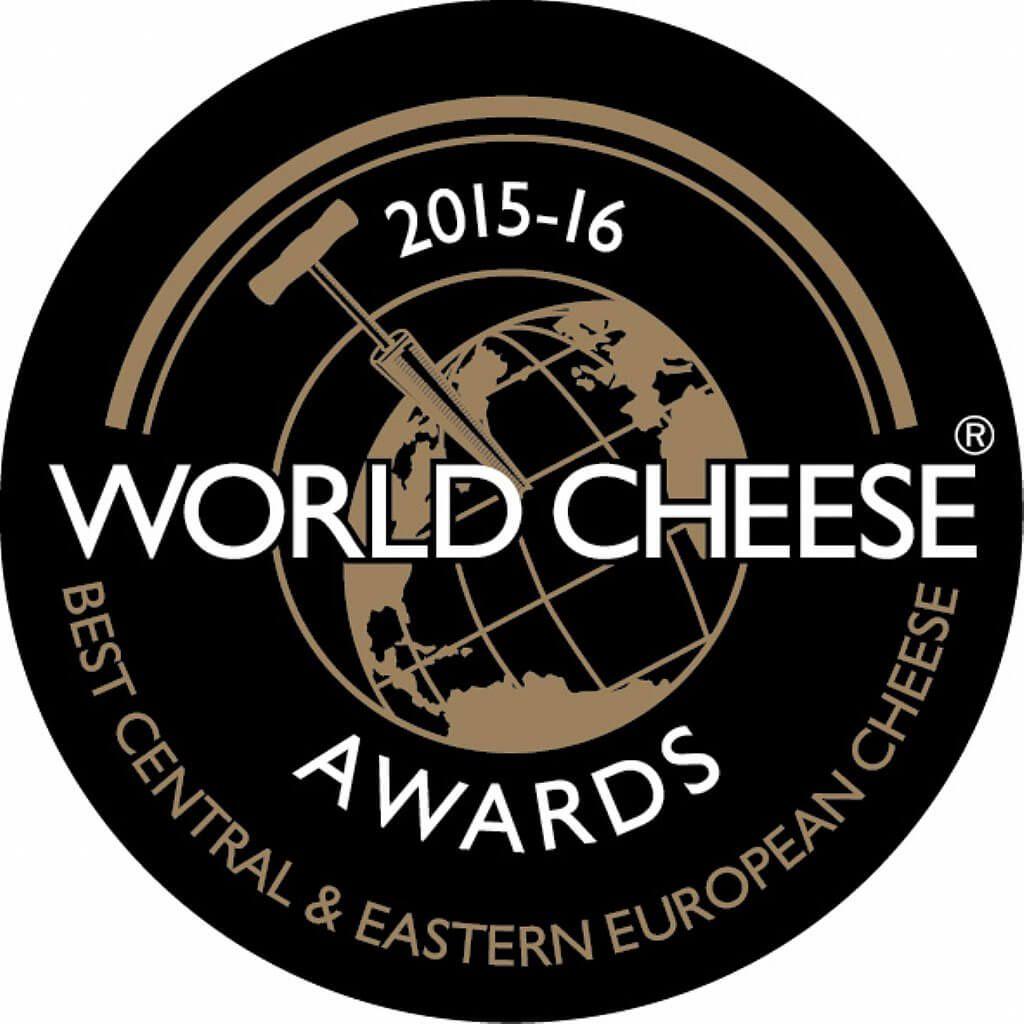 """""""Super Gold"""" et gagnant du trophée au concours """"World Cheese Awards"""", Birmingham, Royaume-Uni"""