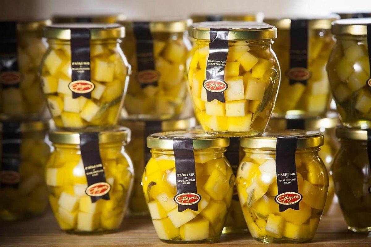 Fromages à l'huile d'olive prix, vente, Discount Croatie