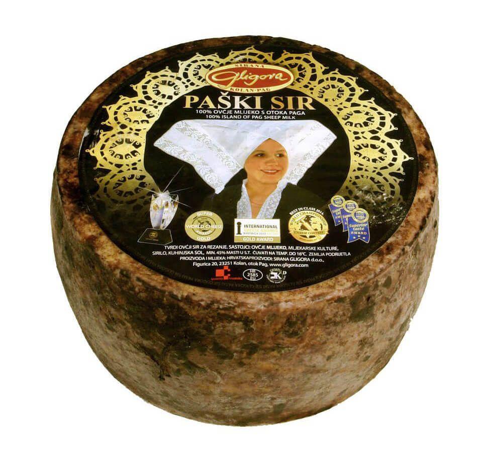 Fromage de Pag, affiné prix, vente, Discount Croatie